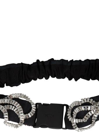N.21 Bow Embellished Belt