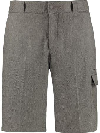 Salvatore Ferragamo Linen And Cotton Trousers