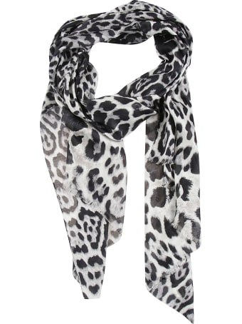 Saint Laurent Patterned Scarf