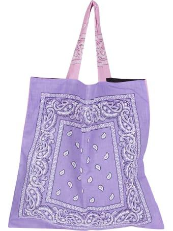 Arizona Love Pink And Purple Cotton Tote Bag