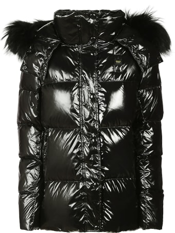 Blauer Fur Detail Padded Jacket