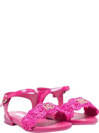 Dolce & Gabbana Fuchsia Sandals