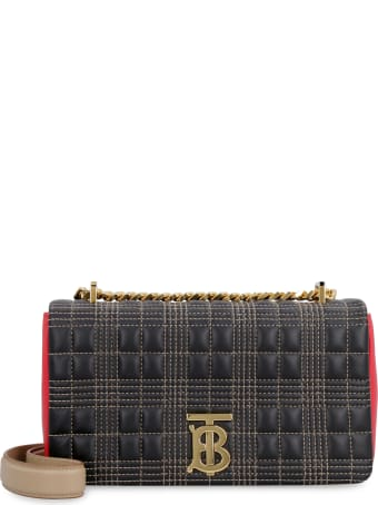 Burberry Lola Quilted Leather Shoulder Bag