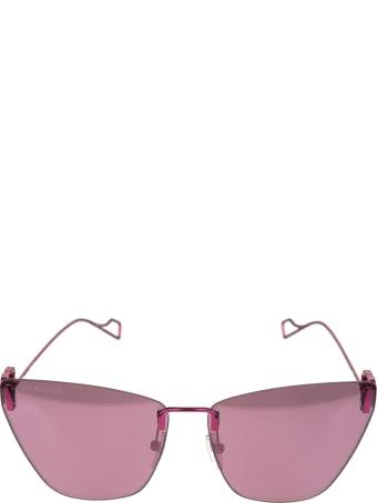 Balenciaga Pink Light Cat Woman Sunglasses