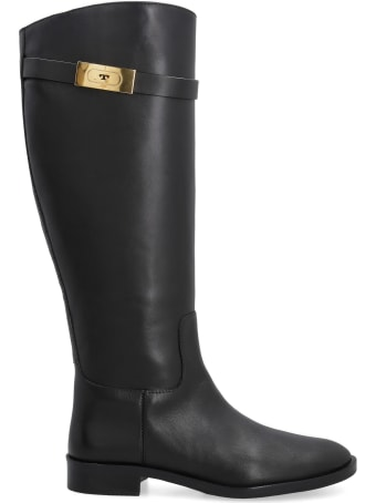 Tory Burch Leather Knee-boots