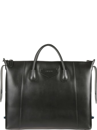 Givenchy Logo Patch Top Zip Tote