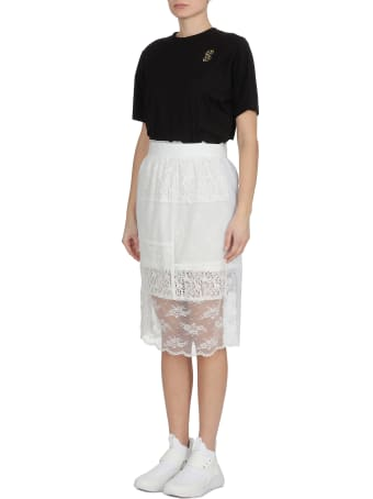 McQ Alexander McQueen Laces Skirt