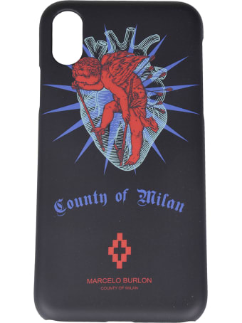 Marcelo Burlon Heart Iphone X Case