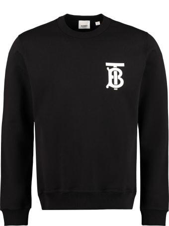Burberry Logo Printed Crew-neck Sweatshirt