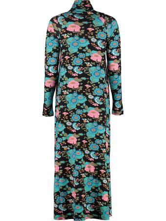 H2OFagerholt Manhadit Floral Print Jersey Dress