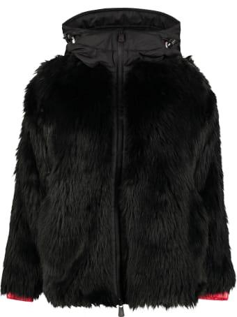 Moncler Grenoble Faux Fur Jacket