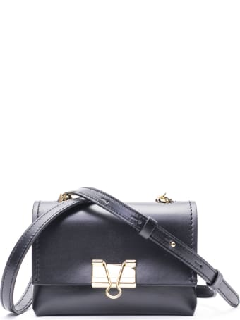 Off-White Leather Shoudel Bag