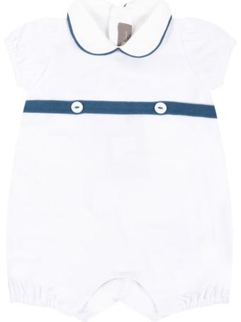 Little Bear White Romper For Babykids