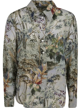 Alberta Ferretti Floral Printed Shirt