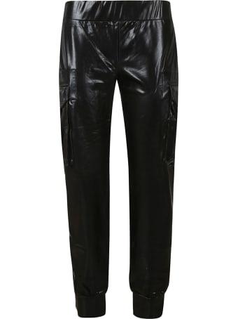 Norma Kamali Cargo Pocket Trousers