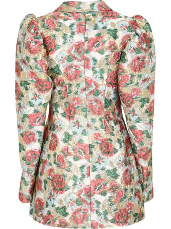 Rotate by Birger Christensen Carol Embellished Button Blazer Dress