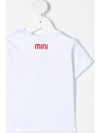 GCDS Mini Embroidered Logo T-shirt