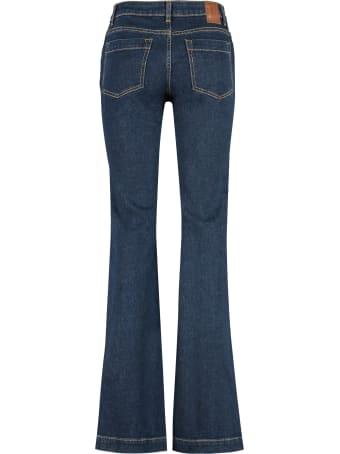 L'Autre Chose High-rise Bootcut Jeans