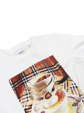 Burberry Tea Splash T-shirt