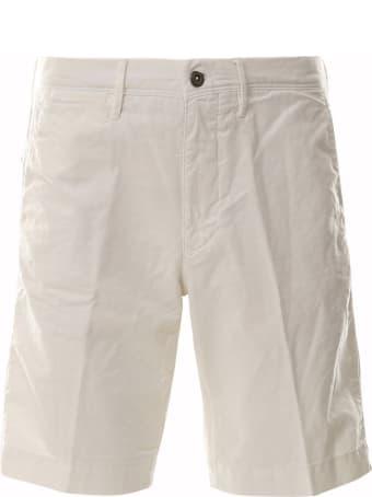 Incotex Red Bermuda Shorts Incotex Red
