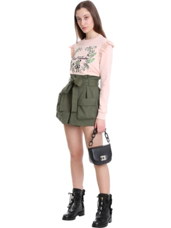RED Valentino Sweatshirt In Rose-pink Cotton