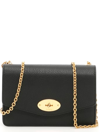 Mulberry Grain Leather Small Darley Bag