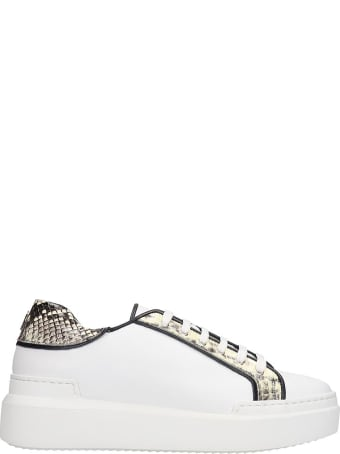 Paula Cademartori Sneakers In White Leather