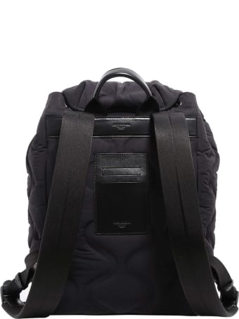 Dolce & Gabbana Logo-print Quilted Backpack