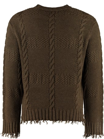 Alanui Crew-neck Wool Sweater
