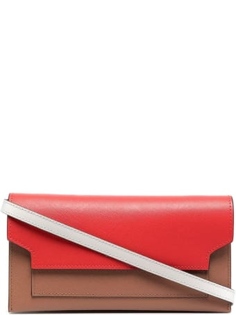 Marni Crossbody Bag In Multicolor Grained Leather