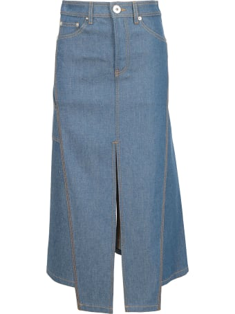 Lanvin Jeans Skirt