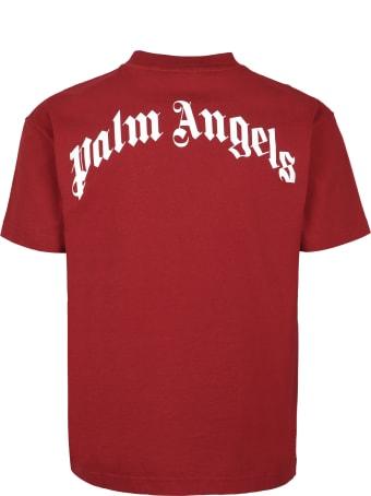 Palm Angels Printed Cotton T-shirt