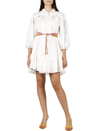 Zimmermann Riders Panelled Mini Dress