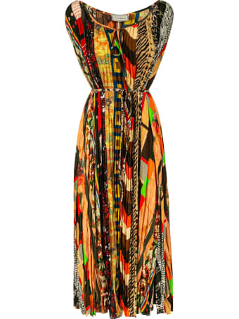 Pierre-Louis Mascia Sleeveless Printed Long Dress
