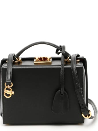 Mark Cross Grace Small Bag Caviar