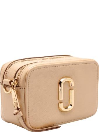 Marc Jacobs 'softshot Pearlized' Leather Shoulder Bag