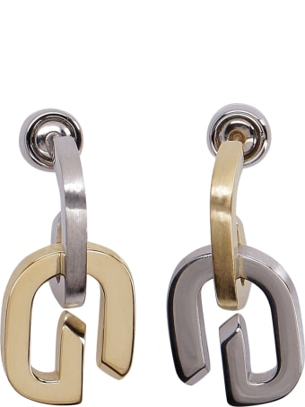 Givenchy G Link Pendant Earrings