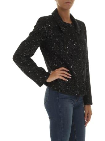 Emporio Armani Sequin Embellished Jacket