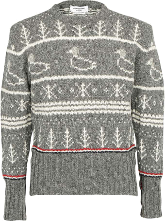 Thom Browne Duck Icon Sweater