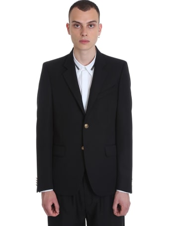 Givenchy Jacket In Black Polyester