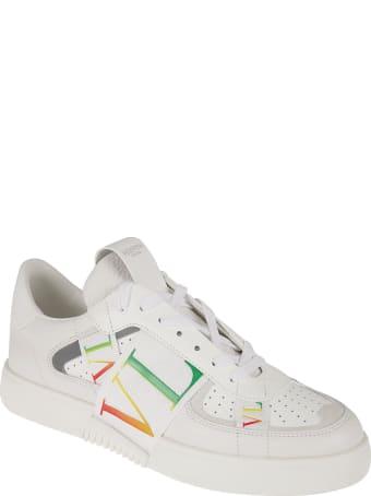 Valentino Garavani Side Logo Strap Detail Sneakers