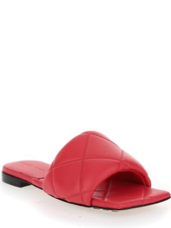 Bottega Veneta Quilted Mule Sandals