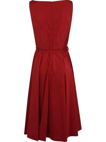 Aspesi Belted Waist Sleeveless Dress