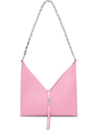 Givenchy Borsa A Tracolla Cut Out Piccola In Pelle Box Rosa