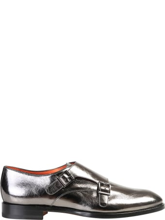 Santoni Metallic Shoes