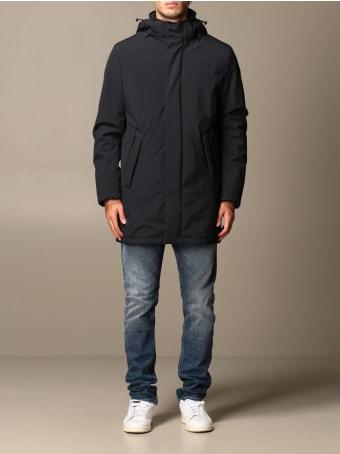 Refrigiwear Jacket Refrigiwear Parka In Medium Stretch Nylon With Hood