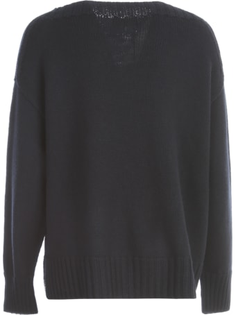 Drumohr Straight Sweater L/s W/slits