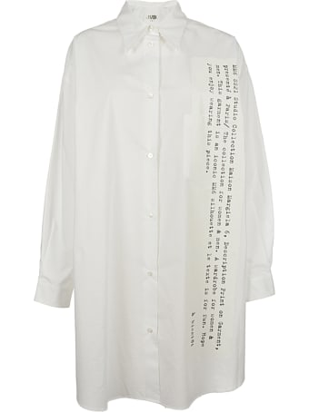 MM6 Maison Margiela Poplin Cotton Shirt Oversize