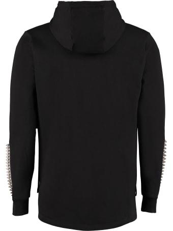Philipp Plein Cotton Full Zip Hoodie