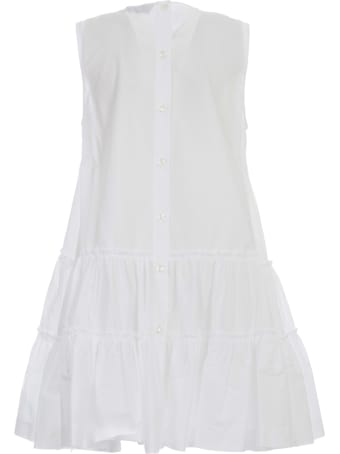 Simone Rocha Sleevless Short Frill Dress
